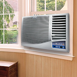 Window air conditioner repairs wall ac repairs astoria ny for Window unit with heat